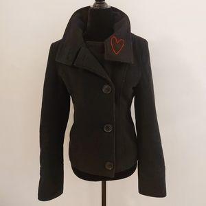 Fiorucci vintage wool cashmere coat